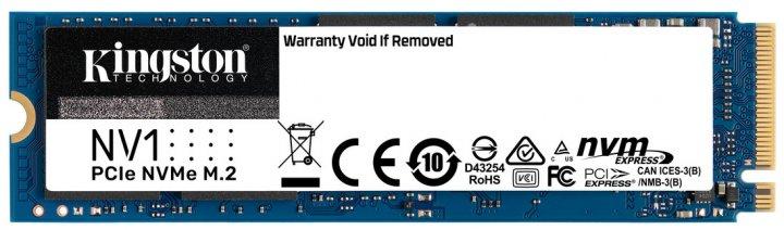 Kingston NV1 1TB NVMe M.2 2280 PCIe 3.0 x4 (SNVS/1000G) - зображення 1