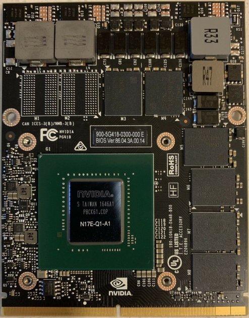 NVIDIA Quadro P3000 MXM 6 ГБ GDDR5 - зображення 1