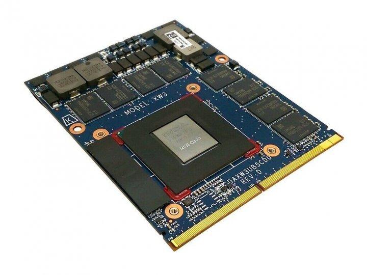 NVIDIA Quadro P4200 MXM 8 ГБ GDDR5 - изображение 1