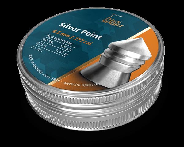 Пули пневматические H&N Silver Point 0,75 гр 500 шт - изображение 1