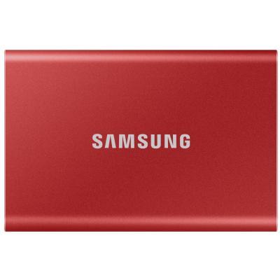 Накопичувач SSD USB 3.2 500GB T7 Samsung (MU-PC500R/WW) - зображення 1