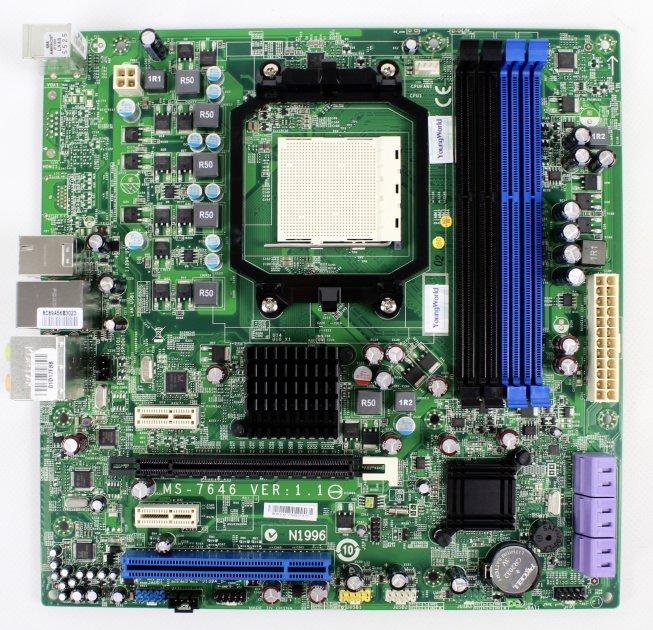 Материнская плата ECS MS-7646 Socket AM3 - изображение 1