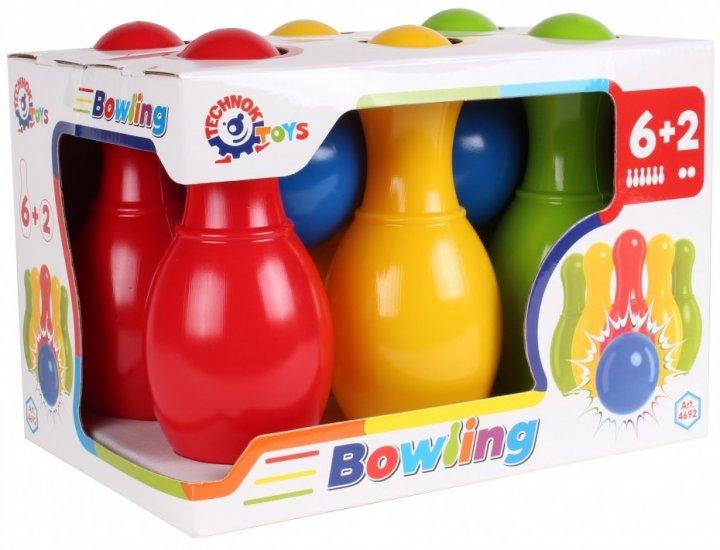 Игрушка ТехноК Набор для игры в боулинг (4692) (4823037604692) - изображение 1