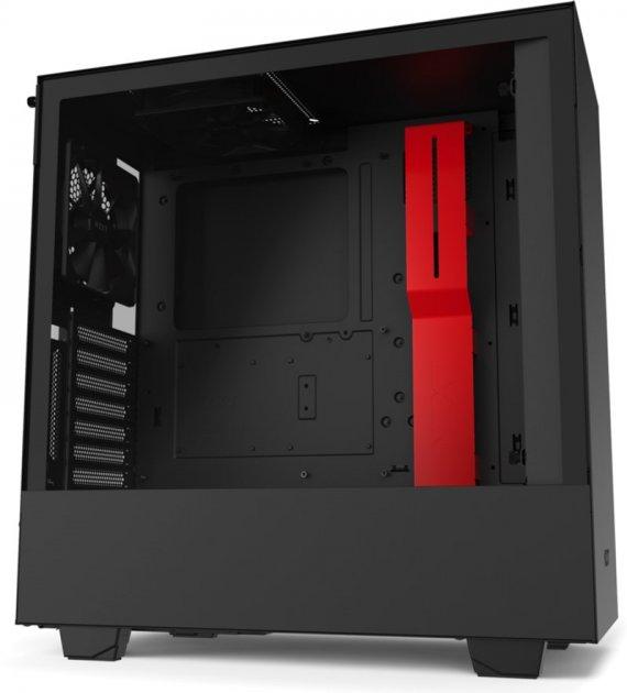 Корпус NZXT H510i Matte Black/Red (CA-H510i-BR) - изображение 1