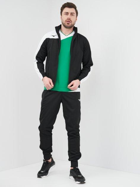 Спортивный костюм Mizuno Men Knit Tracksuit 32EG7006M09 S Черный (5054698530092) - изображение 1