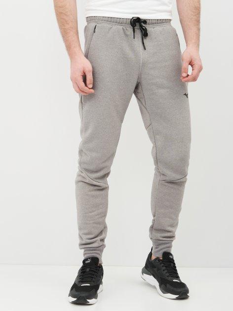 Спортивные штаны Mizuno Athletic Rib Pant K2GD050105 M Серые (5054698962367) - изображение 1