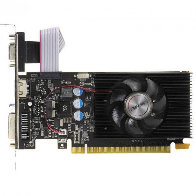 AFOX GeForce GT220 Low Profile (AF220-1024D3L2) - зображення 1