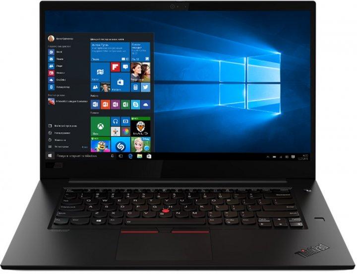 Ноутбук Lenovo ThinkPad X1 Extreme Gen 3 (20TK001QRA) Black - зображення 1
