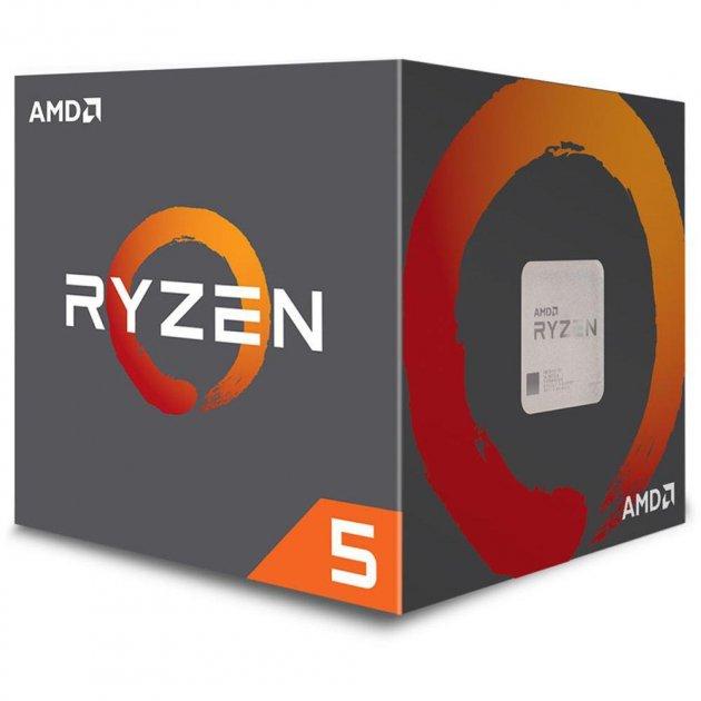 Процессор AMD Ryzen 5 2600 6/12 3.4GHz 16Mb AM4 65W Box (JN63YD2600BBAFBOX) - изображение 1