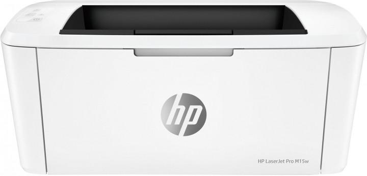 Принтер для ч/б друку HP LaserJet Pro M15w з Wi-Fi (W2G51A) - зображення 1