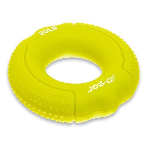 Эспандер кистевой Кольцо FI-1788 Jello 9кг Желтый (56457010) - изображение 1