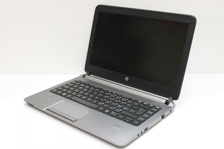 Б/у Ноутбук HP ProBook 430 G1 / Intel-Core-i3 / 4Gb / 500Gb / Клас В (акумулятор не працює) - зображення 1