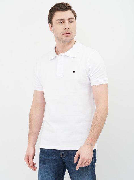 Поло Tommy Hilfiger 10685.2 S (44) Белое - изображение 1