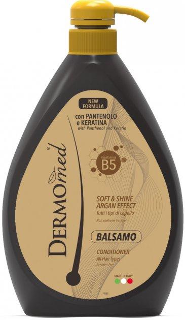 Бальзам для волос DermoMed Арган с кератином 600 мл (8054633837498) - изображение 1
