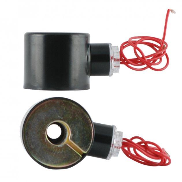 Електромагнітна котушка Sanlixin для соленоїдних клапанів RF-SV-2W-15C/20С/25С прямої дії кругла (Сoils the RF-SV-2W 220V) - зображення 1