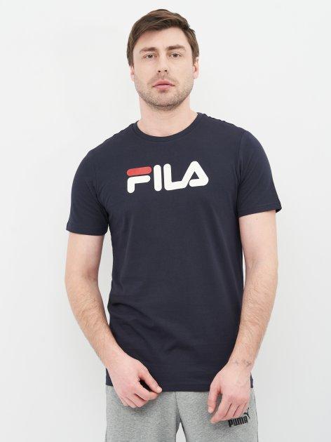 Футболка Fila 107728-Z4 46 Темно-синя (4670036628422) - зображення 1