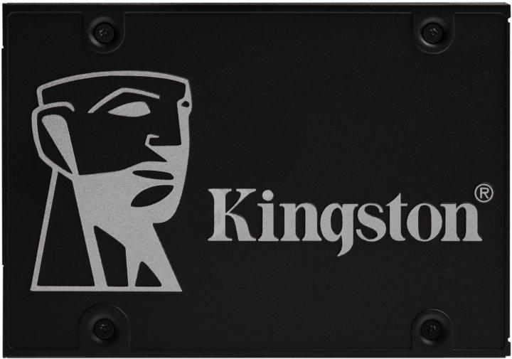 "Kingston SSD KC600 1TB 2.5"" SATAIII 3D NAND TLC (SKC600/1024G) - изображение 1"