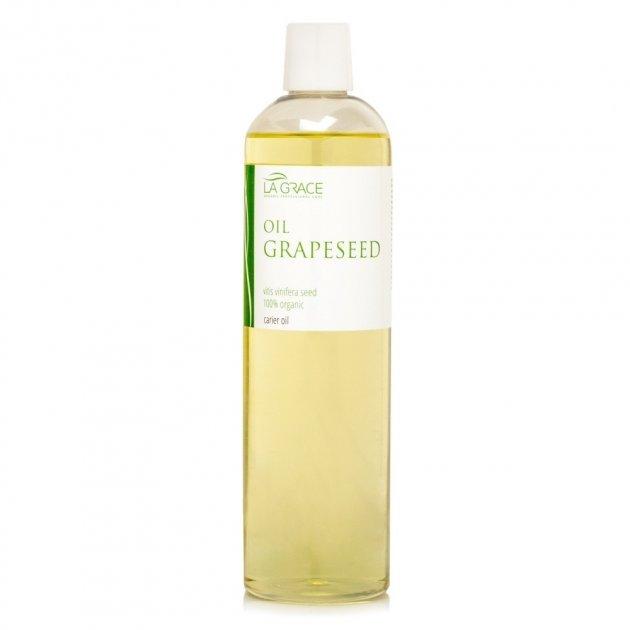 Масажне масло La Grace Виноградних Кісточок 500 мл (6016718) - зображення 1
