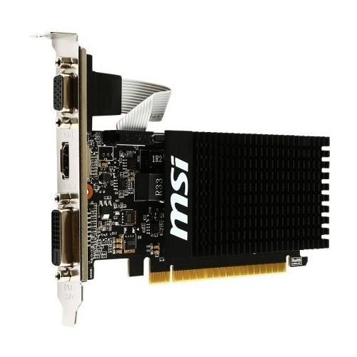 Видеокарта GF GT 710 2GB GDDR3 MSI (GT 710 2GD3H LP) - изображение 1