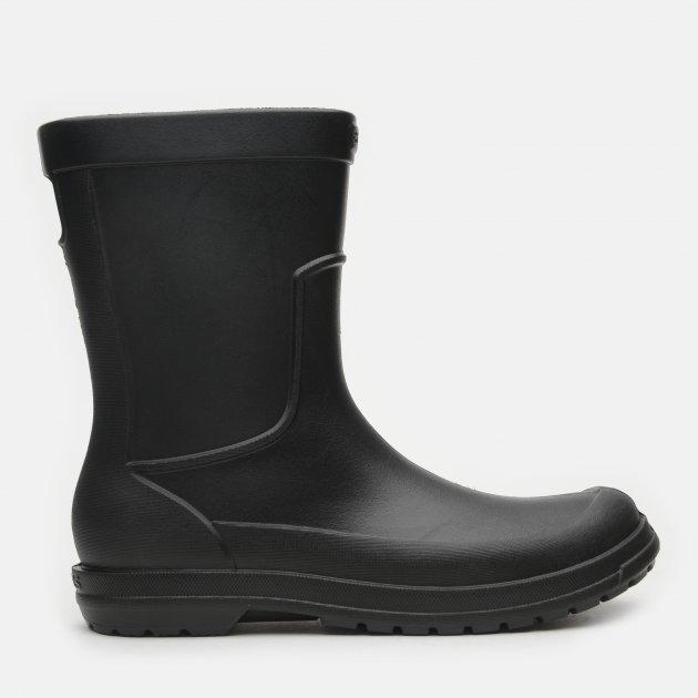 Резиновые сапоги Crocs Jibbitz AllCast Rain Boot M 204862-060-M12 46-47 28.8 см Черные (887350987171) - изображение 1
