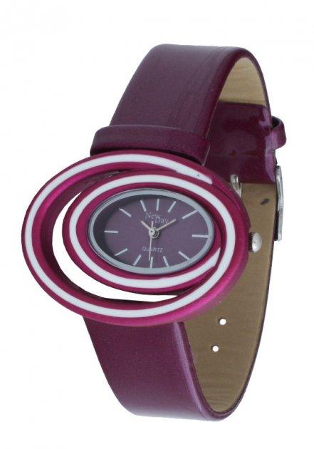 Женские часы NewDay Ch157j оригинальные сиреневые - изображение 1
