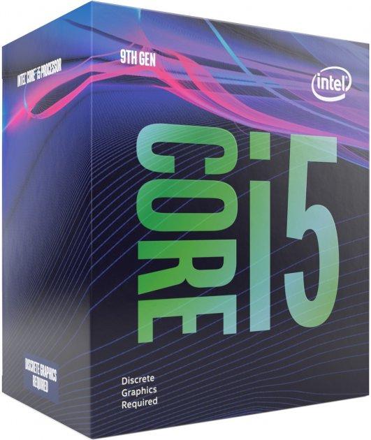 Процессор Intel Core i5-9500F 3.0GHz/8GT/s/9MB (BX80684I59500F) s1151 BOX - изображение 1