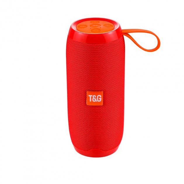 Bluetooth-колонка TG106, Мощностью 10W, Аккумулятор 1200mAh Red - изображение 1