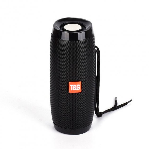 Bluetooth-колонка з LED підсвічуванням TG-157, Потужністю 10W, Акумулятор 1200mAh Чорний - зображення 1