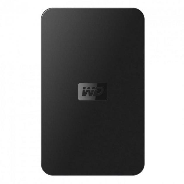 """Накопичувач зовнішний 2.5"""" USB 320Gb WD Elements Portable New (WDBAAR3200ABK-EESN) - зображення 1"""