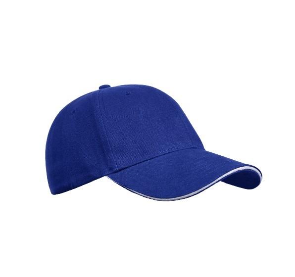 Кепка хлопковая синяя Floyd Golf 7007-05 - изображение 1