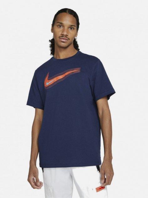 Футболка Nike M Nsw Tee Swoosh 12 Month DB6470-410 S (194502452457) - изображение 1