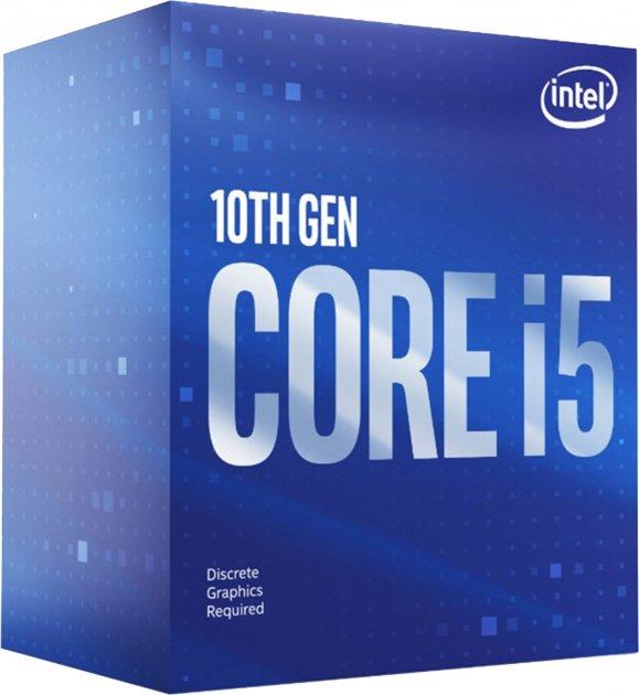 Процессоры Intel Процессор Intel Core i5-10600KF 4.1GHz/12MB (BX8070110600KF) s1200 BOX - изображение 1