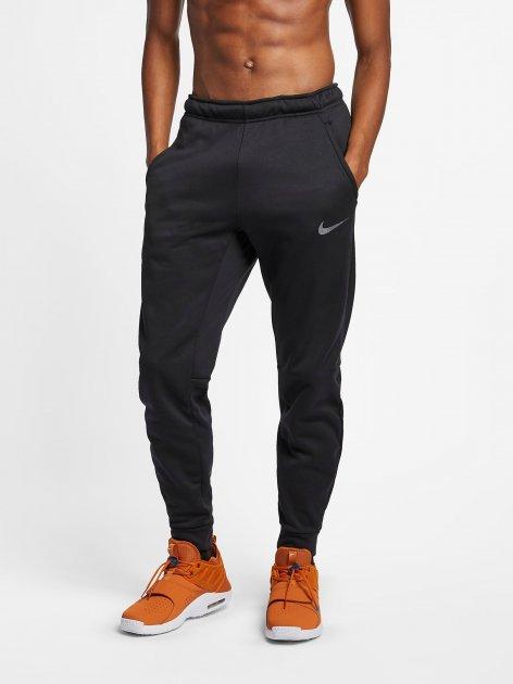 Спортивні штани Nike M Nk Thrma Pant Taper 932255-010 XL (886668336169) - зображення 1