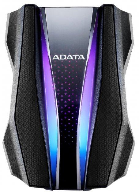 "Жорсткий диск ADATA HD770G 1TB AHD770G-1TU32G1-CBK 2.5"" USB 3.2 Gen1 External Black - зображення 1"