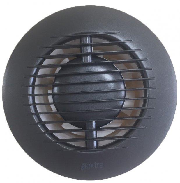 Вытяжной вентилятор Europlast E-EXTRA EA100А с шариковым подшипником антрацит - изображение 1