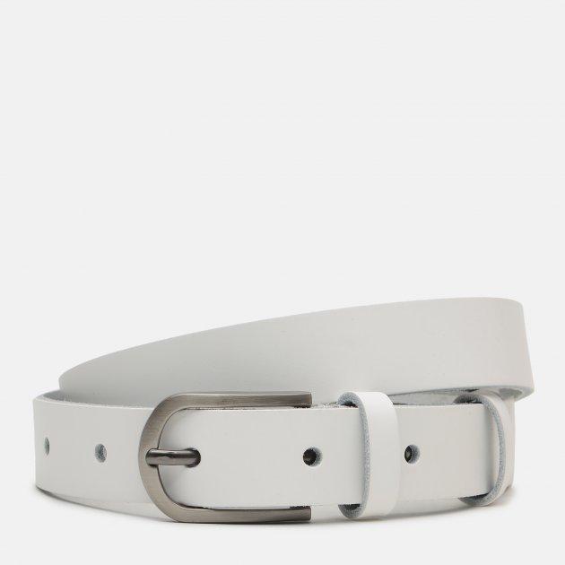 Женский ремень кожаный Sergio Torri 16-0017/25 біл 125 см Белый (2000000023793) - изображение 1
