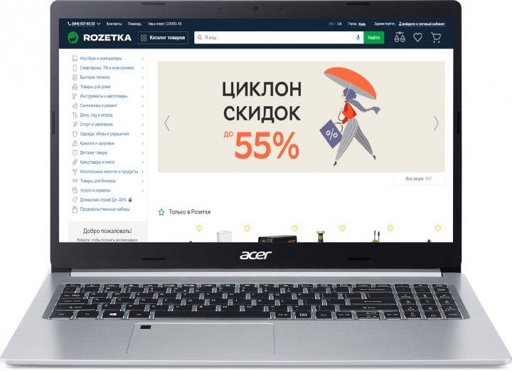 Ноутбук Acer Aspire 5 A515-45-R2W2 (NX.A82EU.00L) Pure Silver - зображення 1
