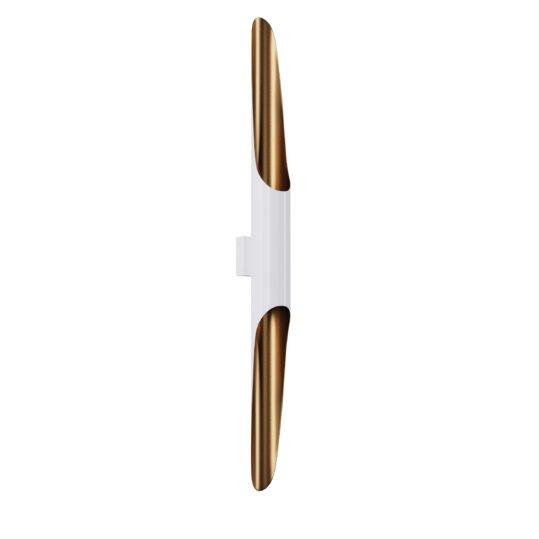 Настінне бра Pikart P-full White/bronze 2*GU10, арт. 5491.11 (5491-11 - 282239) - изображение 1