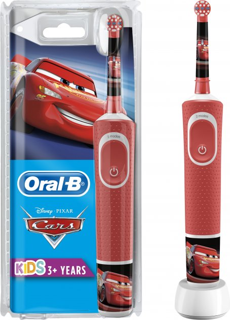 Электрическая зубная щетка ORAL-B BRAUN Stage Power/D100 Cars (4210201244554) - изображение 1
