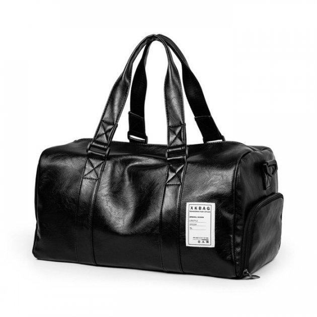 Спортивная сумка с отделением для обуви Мужская дорожная сумка Для женщин и мужчин Сумка через плечо (12533) - изображение 1