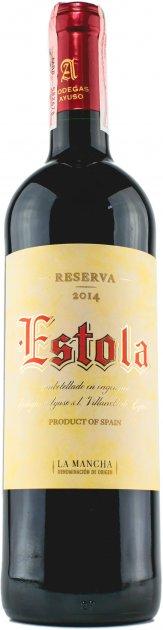 Вино Estola Резерва 2014 Estola D.O. La Mancha красное сухое 13.5% 0.75 л (8410479510214) - изображение 1