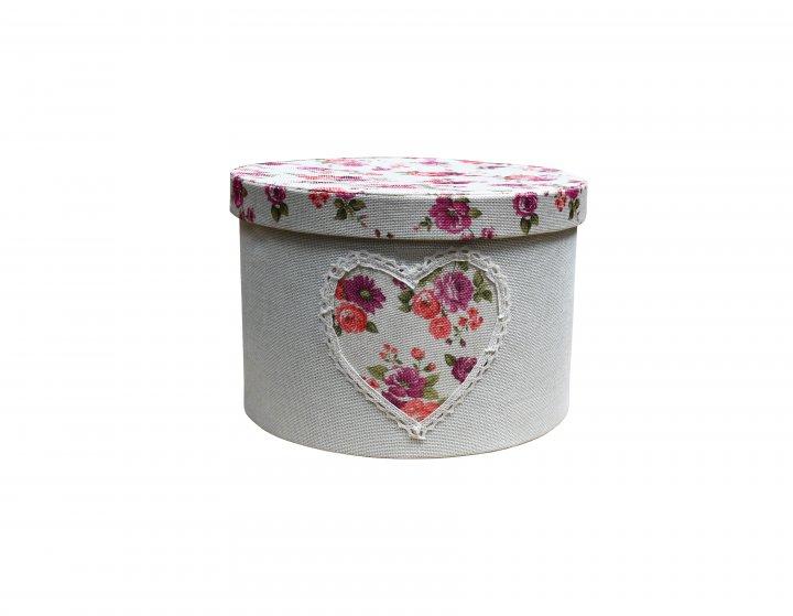 Короб із кришкою Handy Home Квіти 30х20 см (FB-22) - зображення 1