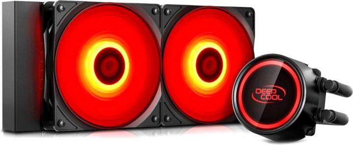 Система рідинного охолодження DeepCool Gammaxx L240T Red - зображення 1