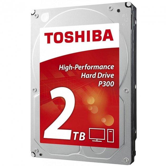 Жорстку диск Toshiba P300 2TB 7200rpm 64MB HDWD120UZSVA 3.5 SATA III - зображення 1
