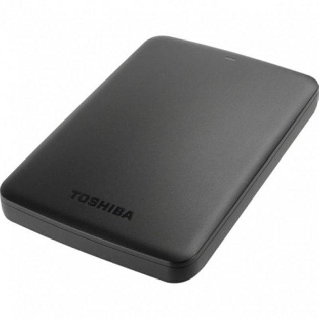 """Накопичувач Toshiba Canvio Basics 1TB 2.5"""" USB 3.0 Black (HDTB410EK3AA) - зображення 1"""