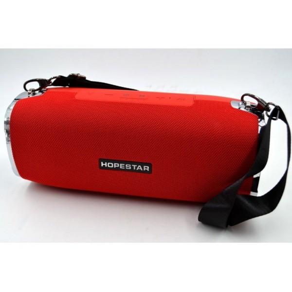 Портативна Bluetooth Колонка Sound System H24 Pro Hopestar 2 динаміка Red з вологозахистом, FM -приймач - зображення 1
