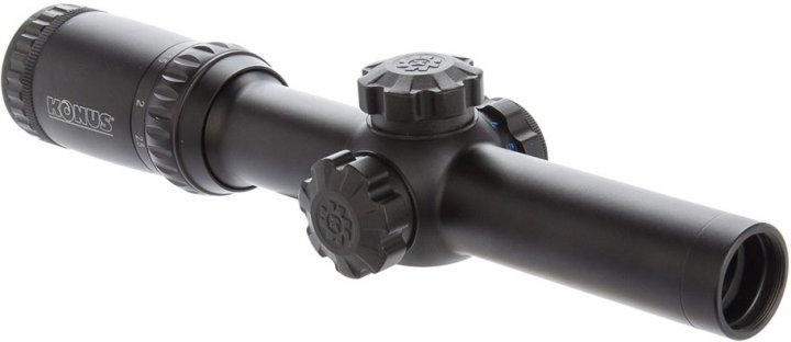 Оптичний приціл Konus KonusPro M-30 1-4x24 Circle Dot IR (7184) - зображення 1