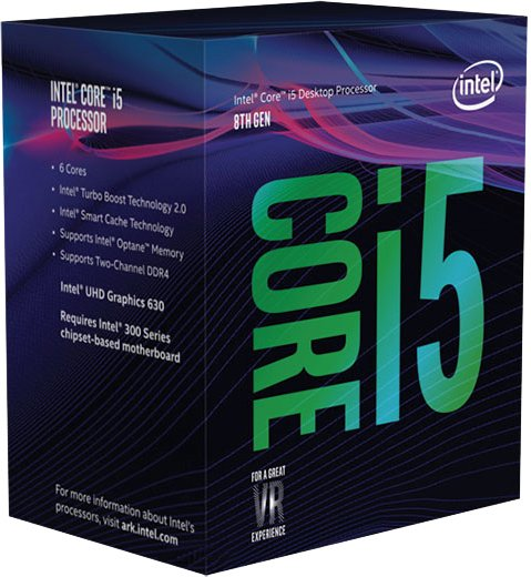 Процесор Intel Core i5-8600 BX80684I58600 (s1151, 3.1 GHz) Box (6396212) - зображення 1