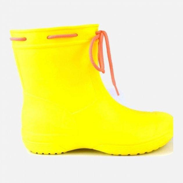Резиновые сапоги Jose Amorales 119210 37 (23.5 см) Желтые (2201192103700) - изображение 1