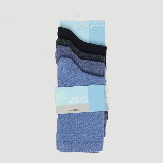 Шкарпетки C&A 225-20-20229-016 39-42 4 пари Сині (cd03936450362) - зображення 1